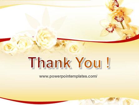 Flowers PowerPoint Template Slide 20