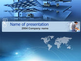 Business Concepts: Bouw PowerPoint Template #00004