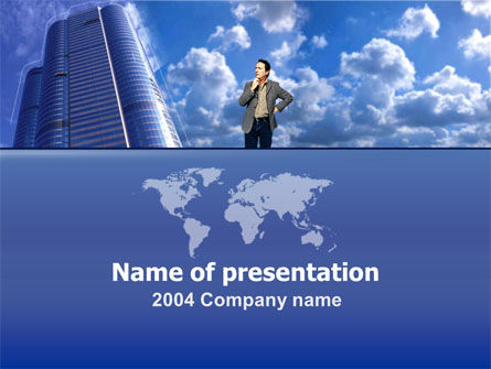 Careers/Industry: Global Planning PowerPoint Template #00006