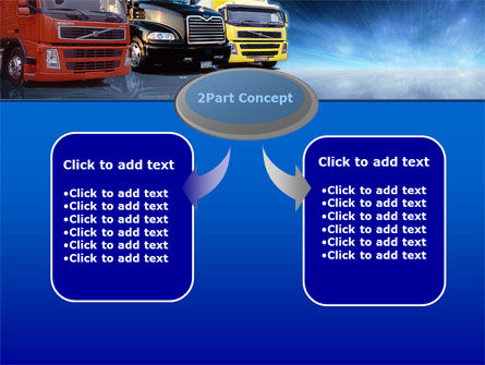 Logistics PowerPoint Template, Slide 4, 00007, Cars and Transportation — PoweredTemplate.com