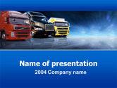 Cars and Transportation: Logistik PowerPoint Vorlage #00007