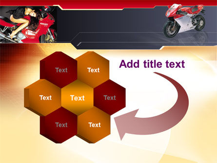 Motorcycle PowerPoint Template Slide 11