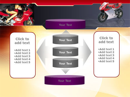 Motorcycle PowerPoint Template Slide 13