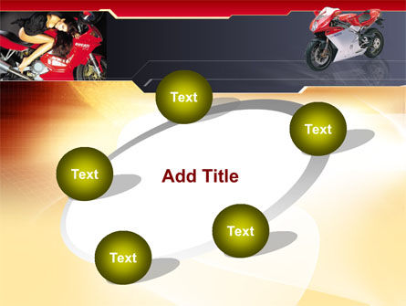 Motorcycle PowerPoint Template Slide 14