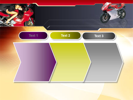 Motorcycle PowerPoint Template Slide 16
