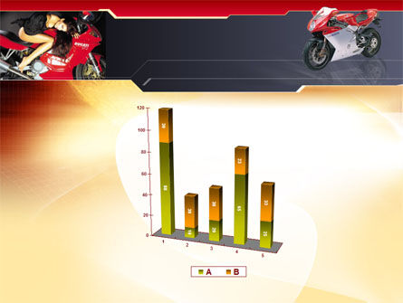 Motorcycle PowerPoint Template Slide 17