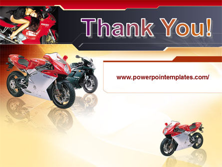 Motorcycle PowerPoint Template Slide 20