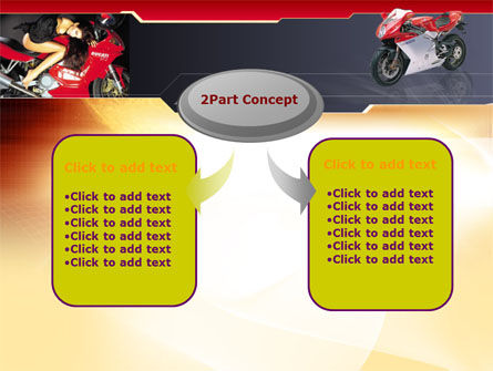Motorcycle PowerPoint Template Slide 4
