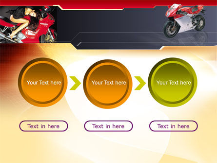 Motorcycle PowerPoint Template Slide 5