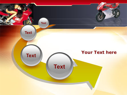 Motorcycle PowerPoint Template Slide 6