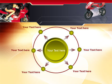 Motorcycle PowerPoint Template Slide 7
