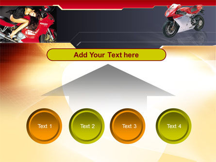 Motorcycle PowerPoint Template Slide 8
