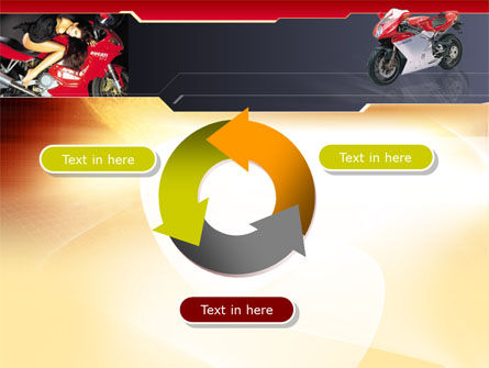 Motorcycle PowerPoint Template Slide 9