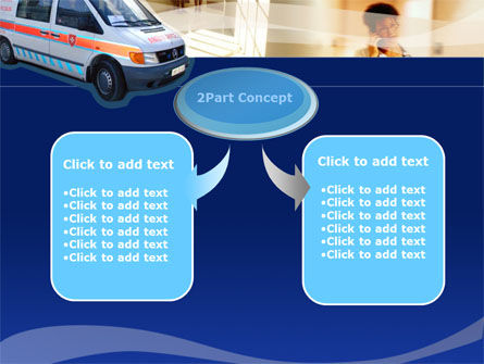 Ambulance PowerPoint Template, Slide 4, 00014, Medical — PoweredTemplate.com