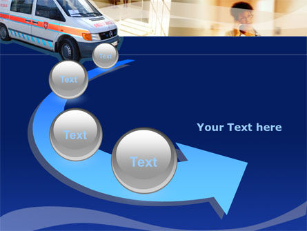 Ambulance PowerPoint Template Slide 6