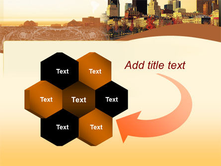 Megalopolis In Brown Colors PowerPoint Template Slide 11