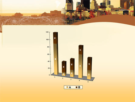 Megalopolis In Brown Colors PowerPoint Template Slide 17