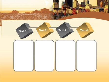 Megalopolis In Brown Colors PowerPoint Template Slide 18