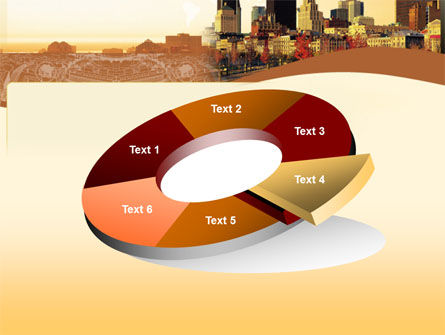 Megalopolis In Brown Colors PowerPoint Template Slide 19