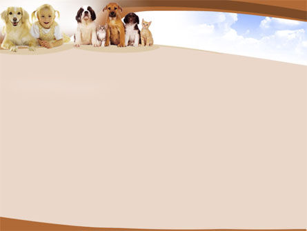 Pets Free PowerPoint Template, Slide 2, 00019, Free PowerPoint Backgrounds — PoweredTemplate.com