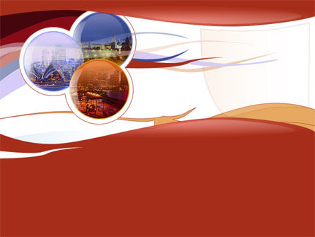 Art & Entertainment: Australian Cities PowerPoint Template #00020