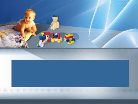 People: Kids & Toys PowerPoint Template #00027