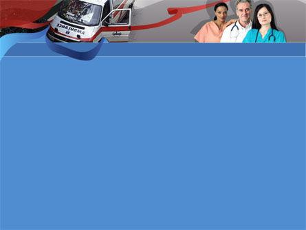First Aid Car PowerPoint Template, Slide 2, 00030, Medical — PoweredTemplate.com