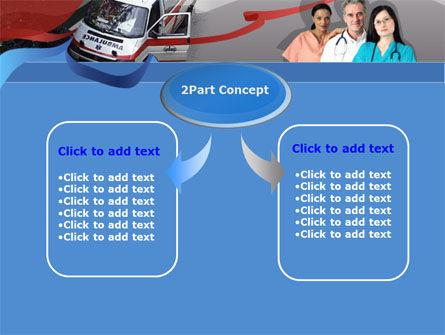 First Aid Car PowerPoint Template, Slide 4, 00030, Medical — PoweredTemplate.com