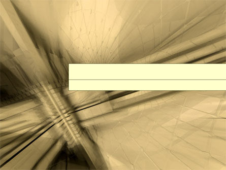 Abstract/Textures: 3D Sepia Business PowerPoint Template #00034