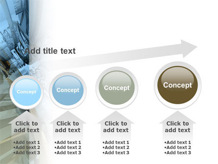 3D Blue & Gray PowerPoint Template Slide 13