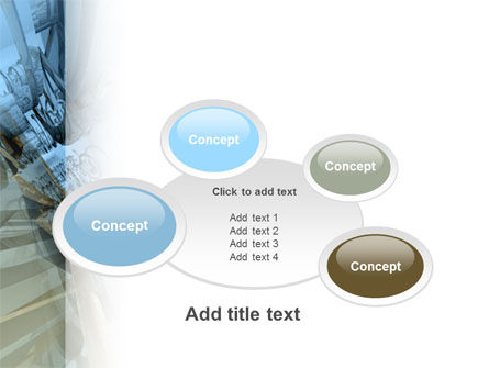 3D Blue & Gray PowerPoint Template Slide 16