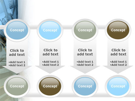 3D Blue & Gray PowerPoint Template Slide 18