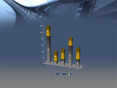 3D Construction PowerPoint Template Slide 17