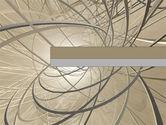 Abstract/Textures: Drei dimensionen PowerPoint Vorlage #00037