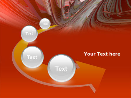 3D Acceleration PowerPoint Template Slide 6