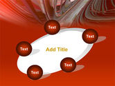 3D Acceleration PowerPoint Template#14