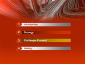 3D Acceleration PowerPoint Template#3
