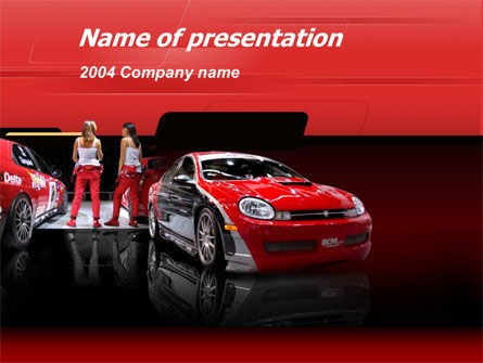 Art & Entertainment: Modelo do PowerPoint - automotivo #00040