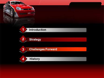 Automotive PowerPoint Template, Slide 3, 00040, Art & Entertainment — PoweredTemplate.com
