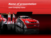 Art & Entertainment: Automotive PowerPoint Template #00040