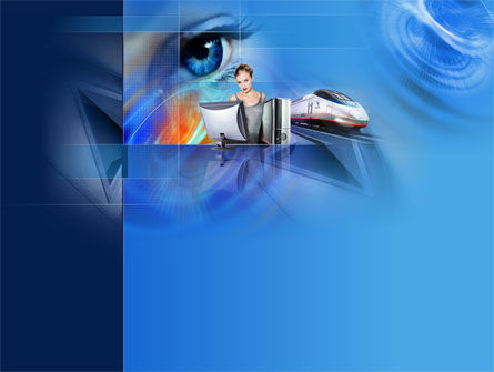 Technology and Science: Transportation PowerPoint Template #00043