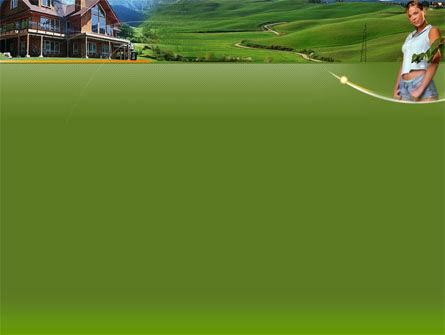 Countryside PowerPoint Template, Slide 2, 00044, Nature & Environment — PoweredTemplate.com