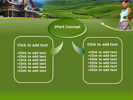 Countryside PowerPoint Template, Slide 4, 00044, Nature & Environment — PoweredTemplate.com