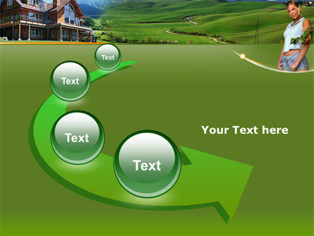 Countryside PowerPoint Template Slide 6