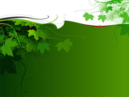 Nature & Environment: Ivy PowerPoint Template #00045