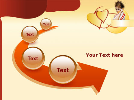 Phone Conversation PowerPoint Template Slide 6