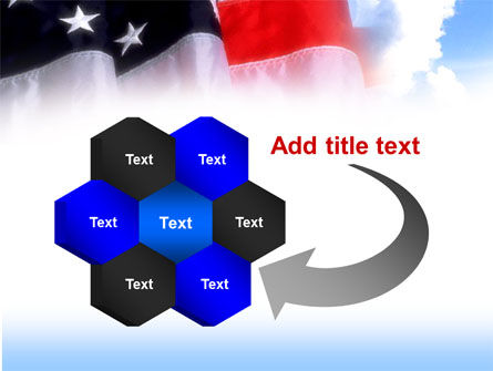 American Flag PowerPoint Template Slide 11