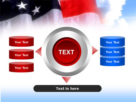 American Flag PowerPoint Template Slide 12