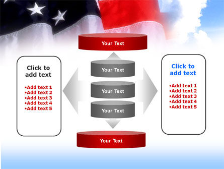 American Flag PowerPoint Template Slide 13