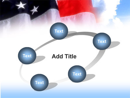 American Flag PowerPoint Template Slide 14